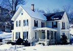 The Holcombe Guest House Bed & Breakfast is a lovely circa 1850 home located on U.S. Route 6 in downtown Troy, Pennsylvania.